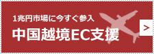 1兆円市場に今すぐ参入 中国越境EC支援